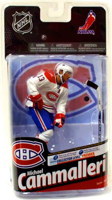 McFarlane Toys NHL Montreal Canadiens Sports Picks Series 24 Michael Cammalleri Action Figure [White Jersey]