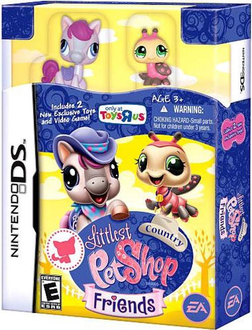 Littlest Pet Shop Nintendo DS Friends Exclusive Video Game [Country Bundle]