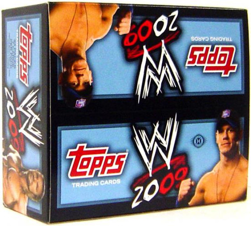 WWE Wrestling 2009 WWE Trading Card Box