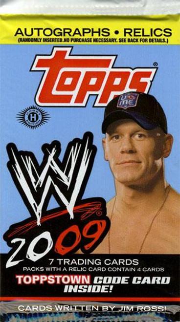 WWE Wrestling 2009 WWE Trading Card Pack