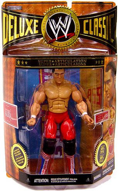 WWE Wrestling Deluxe Classic Superstars Series 8 Dynamite Kid Exclusive Action Figure