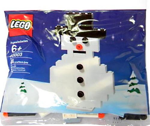 LEGO Snowman Mini Set #40003 [Bagged]