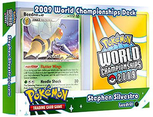 Pokemon World Championships Deck 2009 Stephen Silvestro's Luxdrill Deck