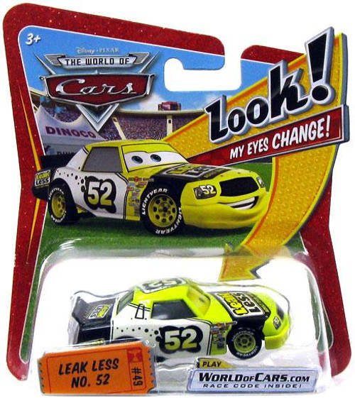 Disney Cars The World of Cars Lenticular Eyes Series 1 Leak Less No. 52 Diecast Car