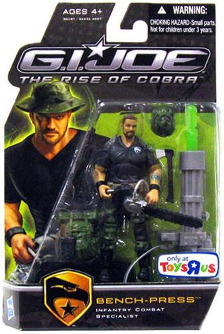 GI Joe The Rise of Cobra Bench-Press Exclusive Action Figure