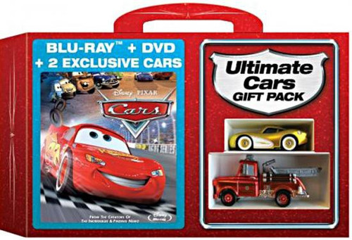 Disney Cars Cars Blu-ray & DVD Ultimate Gift Pack Exclusive