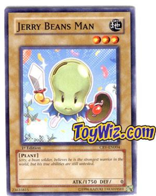 YuGiOh Cybernetic Revolution Common Jerry Beans Man CRV-EN004