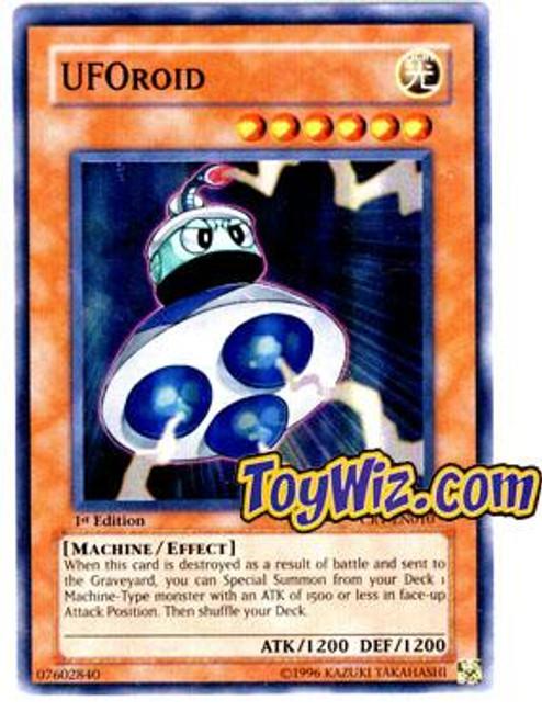 YuGiOh Cybernetic Revolution Super Rare UFOroid CRV-EN010