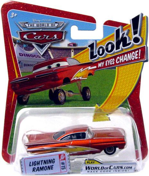 Disney Cars The World of Cars Lenticular Eyes Series 1 Lightning Ramone Diecast Car