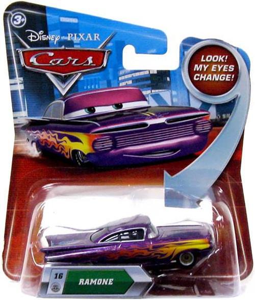 Disney Cars Lenticular Eyes Series 2 Ramone Diecast Car [Purple]