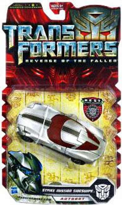 Transformers Revenge of the Fallen Strike Mission Sideswipe Deluxe Action Figure
