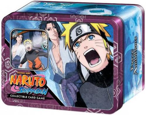 Shippuden Card Game Fierce Ambitions Naruto Vs. Sasuke Collector Tin