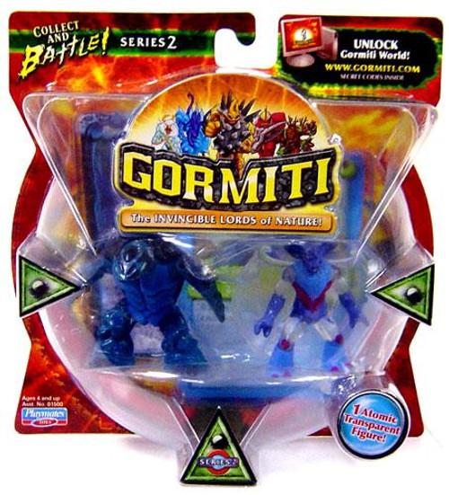 Gormiti Series 2 Turtle the Seer & Darkness the Gory Mini Figure 2-Pack [Random Colors]