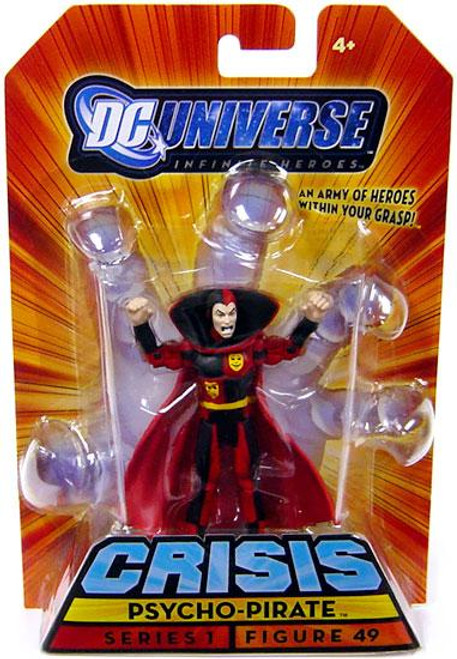 DC Universe Crisis Infinite Heroes Series 1 Psycho-Pirate Action Figure #49