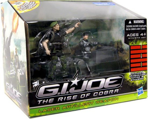 GI Joe The Rise of Cobra Laser Artillery Weapon Exclusive Action Figure Vehicle [Damaged Package]