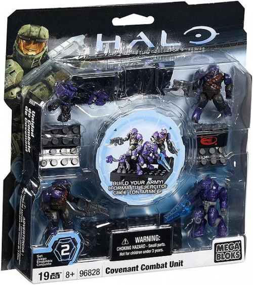 Mega Bloks Halo The Authentic Collector's Series Covenant Combat Unit Set #96828