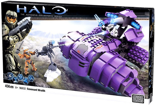 Mega Bloks Halo The Authentic Collector's Series Covenant Wraith Set #96832