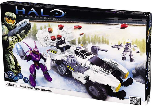 Mega Bloks Halo The Authentic Collector's Series UNSC Arctic Wolverine Set #96852