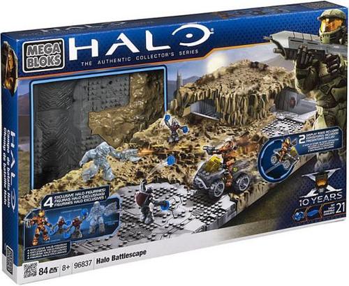 Mega Bloks The Authentic Collector's Series Halo Battlescape Set #96837