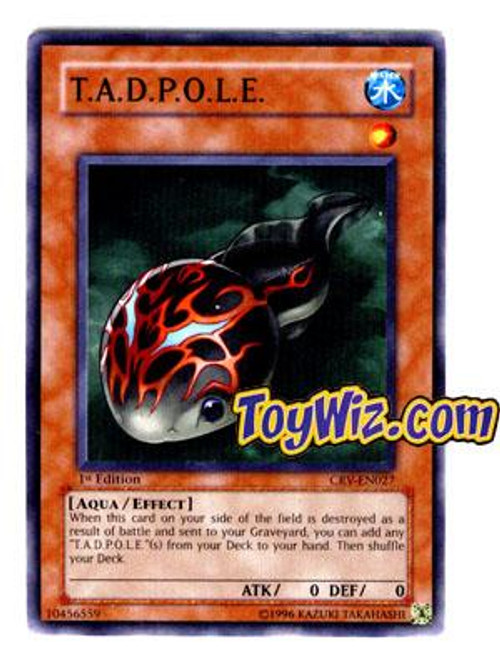 YuGiOh Cybernetic Revolution Common T.A.D.P.O.L.E. CRV-EN027