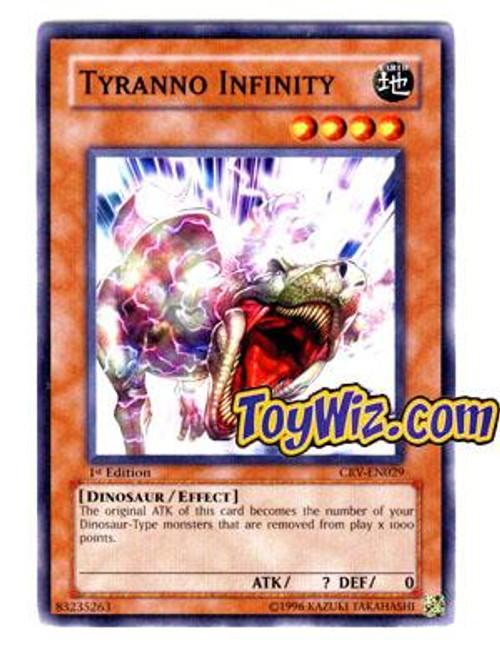 YuGiOh Cybernetic Revolution Common Tyranno Infinity CRV-EN029
