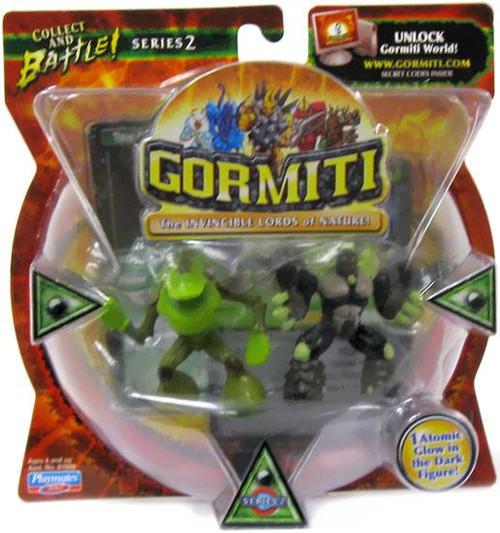 Gormiti Series 2 Sferst The Devourer & Diamond The Ancient Soldier Mini Figure 2-Pack [Random Colors]