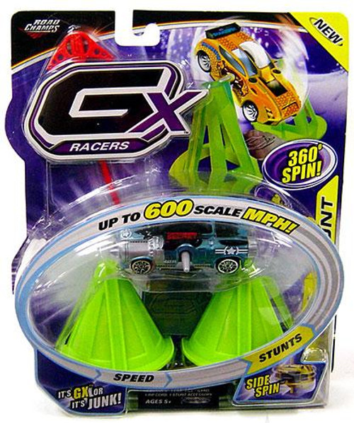 GX Racers Stunts Series 3 Supersonic Plastic Car [Side Spin Gyro]