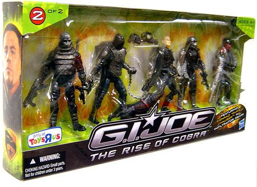 GI Joe The Rise of Cobra Duke Hauser Infiltrator Exclusive Action Figure 5-Pack