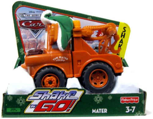 Disney Cars The World of Cars Shake 'N Go Christmas Mater Shake 'N Go Car