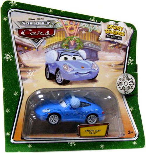 Disney Cars The World of Cars Story Tellers Snow Day Sally Diecast Car