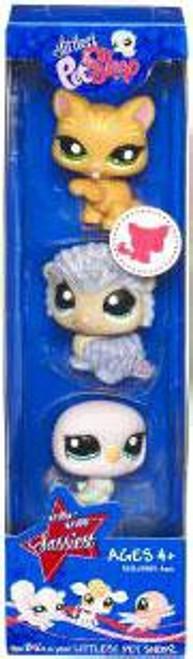 Littlest Pet Shop Baby Eagle, Kitten & Hedgehog Figure 3-Pack