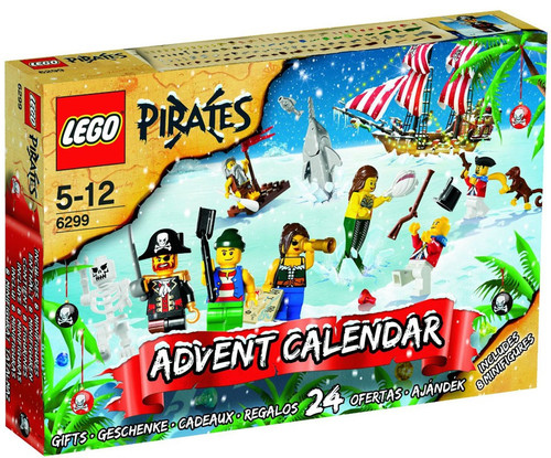 LEGO Pirates 2009 Advent Calendar Set #6299