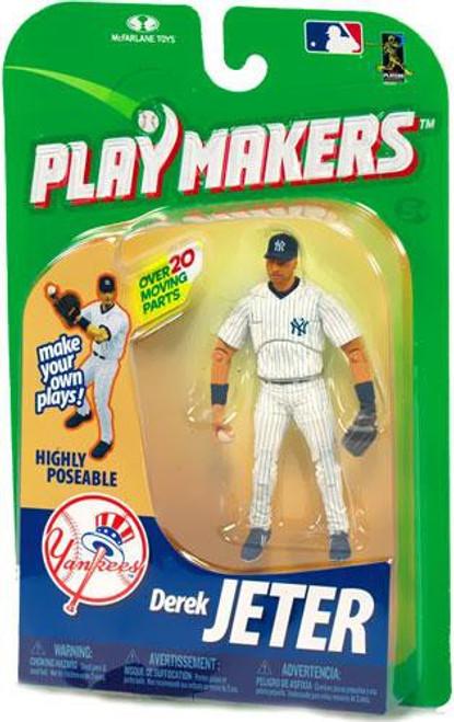 McFarlane Toys MLB New York Yankees Playmakers Series 1 Derek Jeter Action Figure [Fielding]