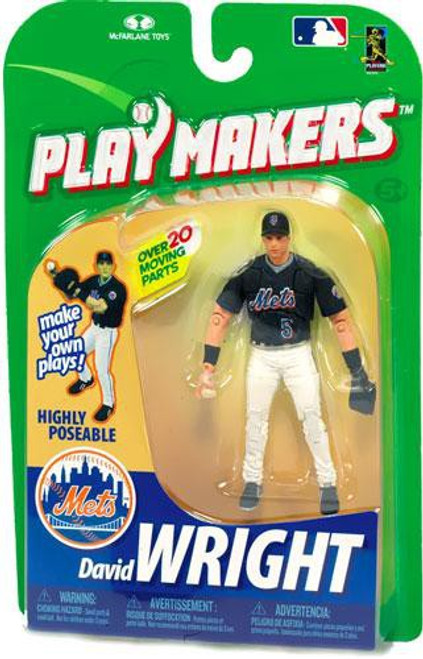 McFarlane Toys MLB New York Mets Playmakers Series 1 David Wright Action Figure [Fielding]