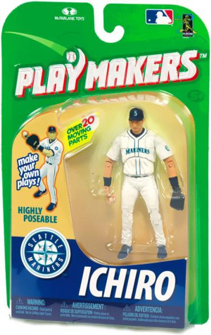 McFarlane Toys MLB Seattle Mariners Playmakers Series 1 Ichiro Suzuki Action Figure [Fielding]