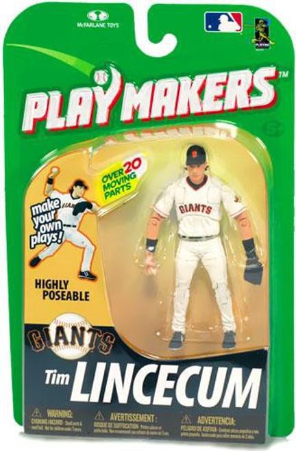 McFarlane Toys MLB San Francisco Giants Playmakers Series 1 Tim Lincecum Action Figure [Fielding]