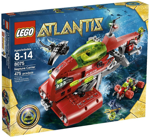 LEGO Atlantis Neptune Carrier Set #8075