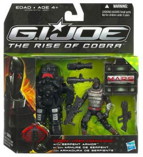 GI Joe The Rise of Cobra MARS Troopers Cobra Viper Commando Exclusive Action Figure