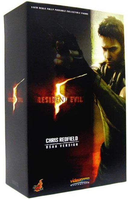 Resident Evil 5 Video Game Masterpiece Chris Redfield 6-Inch Collectible Figure [BSAA Version]