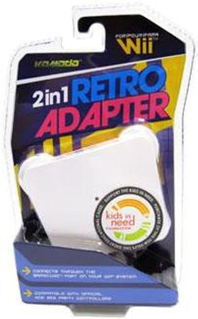 Nintendo Wii 2 in 1 Retro Adapter