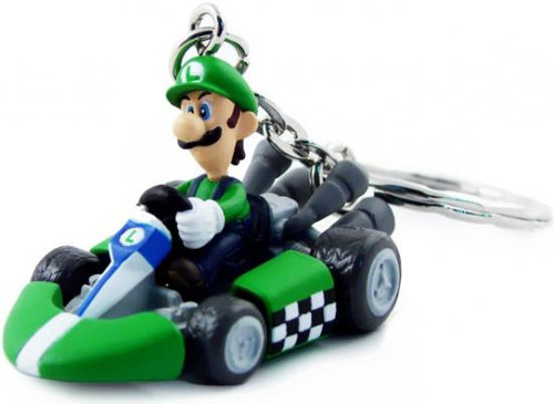 Super Mario Mario Kart Wii Volume 2 Luigi Keychain [Kart]