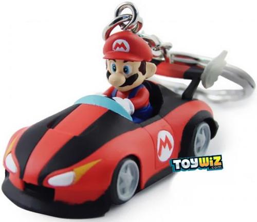 Super Mario Mario Kart Wii Volume 2 Mario Keychain [Roadster]