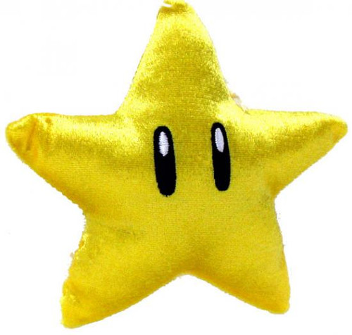 Super Mario Mario Kart Wii Volume 2 Star Plush