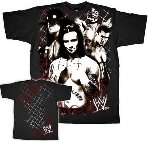 WWE Wrestling CM Punk T-Shirt WWM129 [Adult XL]