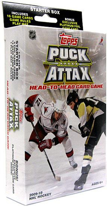 NFL 2009 NHL Puck Attax Starter Box