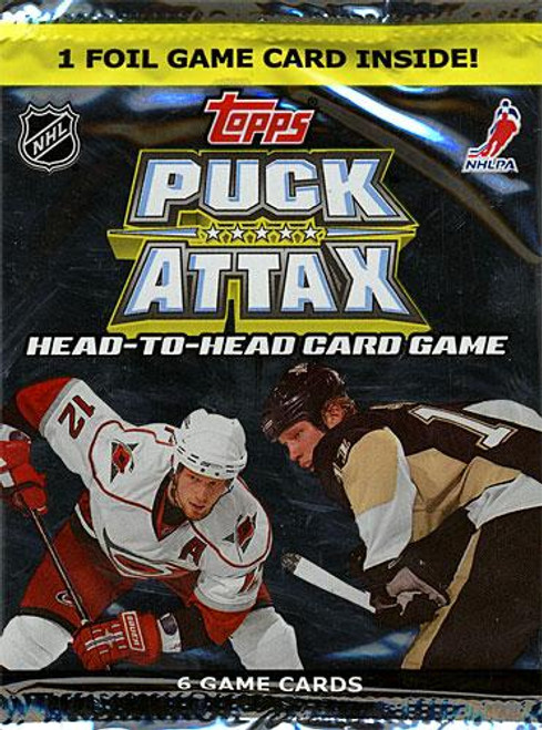 NFL 2009 NHL Puck Attax Booster Pack