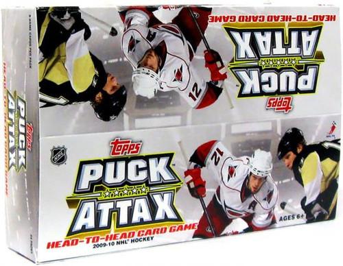 NFL 2009 NHL Puck Attax Booster Box
