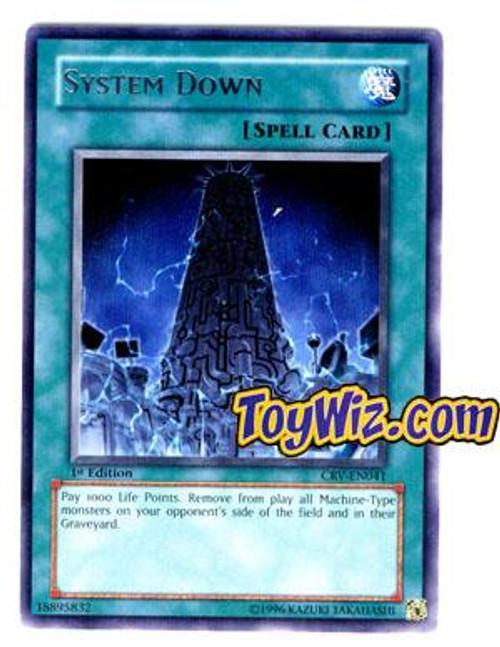 YuGiOh Cybernetic Revolution Rare System Down CRV-EN041