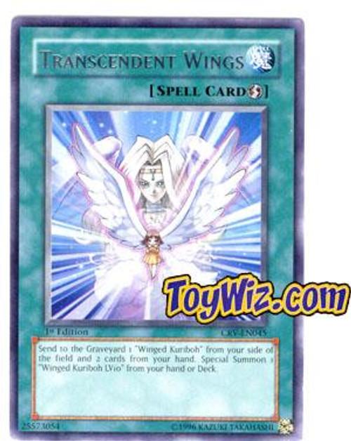 YuGiOh Cybernetic Revolution Rare Transcendent Wings CRV-EN045