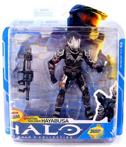 McFarlane Toys Halo 3 Series 7 Spartan Soldier Hayabusa Exclusive Action Figure [Steel]